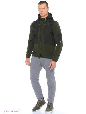 Куртка Shelter. Цвет: зеленый