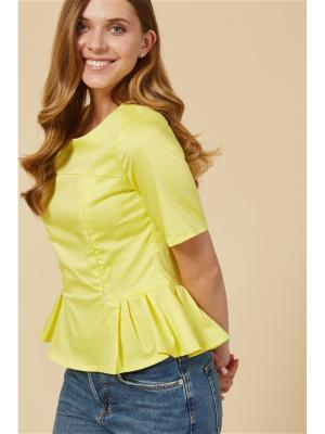 Блузка для кормящих мам MilkyMama. Цвет: желтый