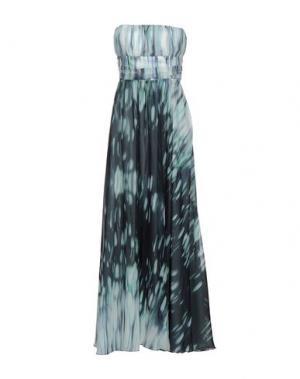 Длинное платье TROU AUX BICHES. Цвет: небесно-голубой
