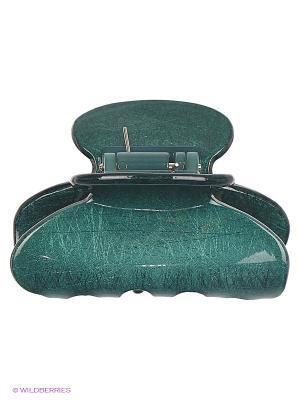 Заколка-краб Lastoria. Цвет: зеленый