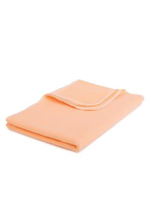 Пеленка HappyBabyDays. Цвет: оранжевый