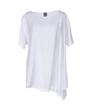 Блузка LORENA ANTONIAZZI. Цвет: белый