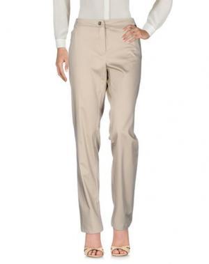 Повседневные брюки CORTE dei GONZAGA. Цвет: песочный