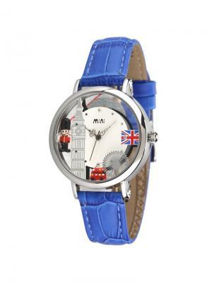 Наручные часы MN2059blue Mini.. Цвет: синий, серебристый