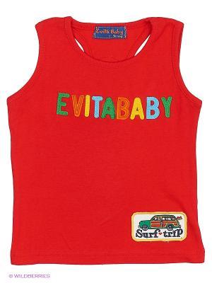 Майка Evita Baby. Цвет: красный