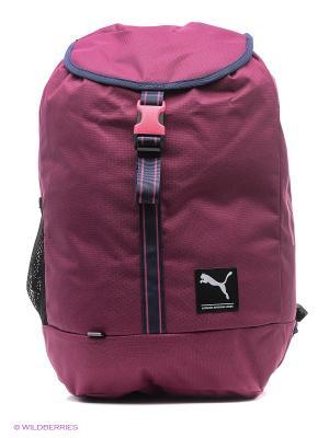 Рюкзак PUMA Academy Female Backpack. Цвет: бордовый