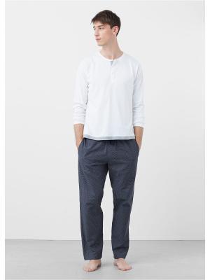 Пижамный комплект  PYDOT MANGO MAN. Цвет: серый