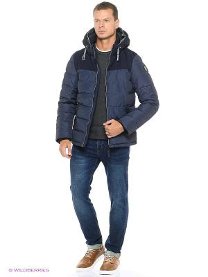 Куртка TOM TAILOR. Цвет: синий, белый