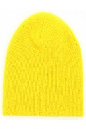 Шапка William Sharp. Цвет: желтый