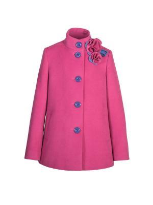 Пальто Stillini. Цвет: фуксия
