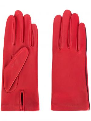 Перчатки New Kate Agnelle. Цвет: красный