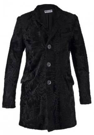 Меховое пальто каракуль BELLINI. Цвет: черный
