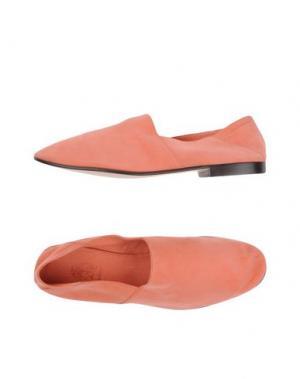 Мокасины MR.HARE. Цвет: лососево-розовый