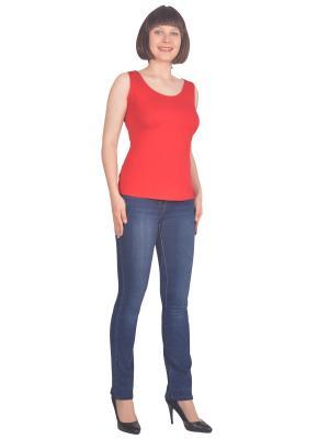 Топ Томилочка Мода ТМ. Цвет: красный