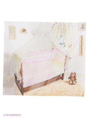 Комплект из 7-ми предм., Овечка (горошки розовые) Soni kids. Цвет: розовый