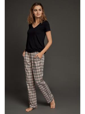 Пижама Laete. Цвет: черный
