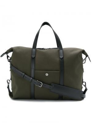 Большая сумка-тоут Mismo. Цвет: зелёный
