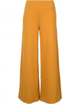 Широкие брюки Simon Miller. Цвет: жёлтый и оранжевый