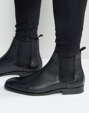 Paul Smith Кожаные ботинки челси Gerald. Цвет: черный