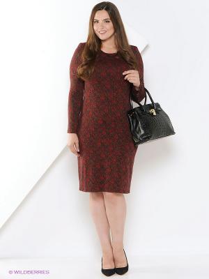 Платье СТиКО. Цвет: красный, черный, хаки