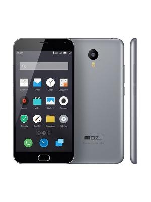 Смартфон M2 Note gray 16Gb Meizu. Цвет: серый