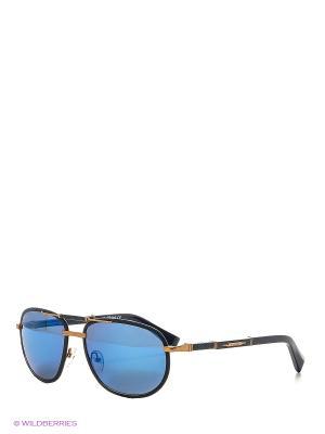 Солнцезащитные очки BLD 1623 102 Baldinini. Цвет: черный, бронзовый