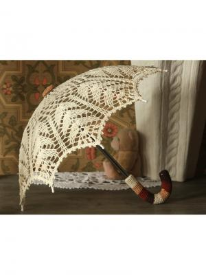 Интерьерный зонт Капучино Локсы. Цвет: светло-коричневый