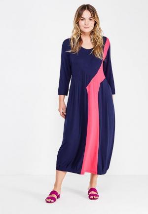 Платье Артесса. Цвет: синий