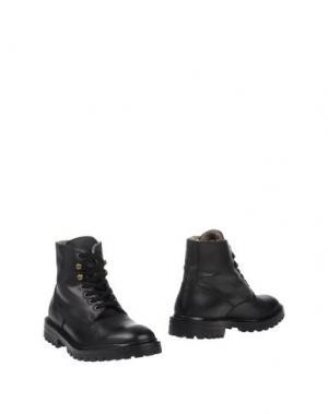 Полусапоги и высокие ботинки ANDREA VENTURA FIRENZE. Цвет: черный