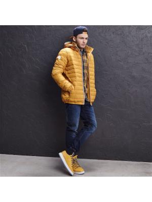 Куртка Cropp. Цвет: светло-коричневый, золотистый