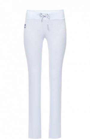 Спортивные брюки с эластичным поясом Wildfox. Цвет: голубой