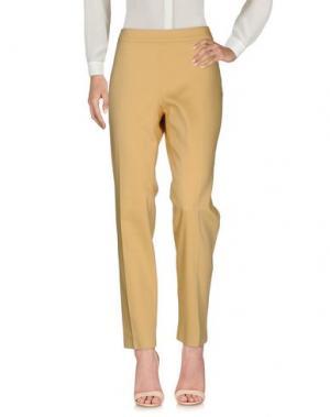 Повседневные брюки ARGONNE. Цвет: желтый