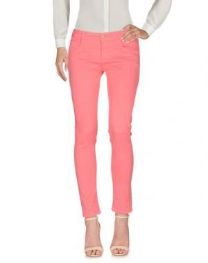 Повседневные брюки TAGLIA42. Цвет: коралловый