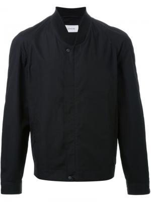 Куртка-бомбер Lemaire. Цвет: чёрный