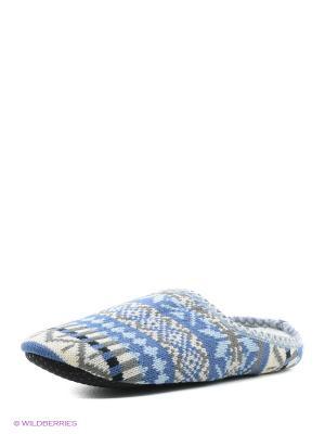 Пантолеты LAMALIBOO. Цвет: голубой