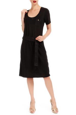 Платье LES ATELIERS DE LA MAILLE. Цвет: черный