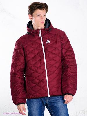Куртка IGUANA. Цвет: бордовый