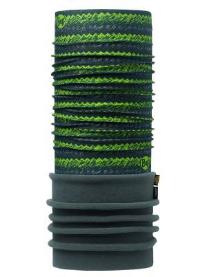 Бандана POLAR VON GREEN / FLINT Buff. Цвет: зеленый, серый