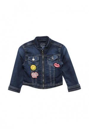 Куртка джинсовая Losan. Цвет: синий
