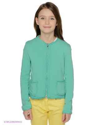 Жакет Elsy. Цвет: зеленый