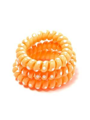 Резинка-браслет для волос Mitya Veselkov. Цвет: оранжевый
