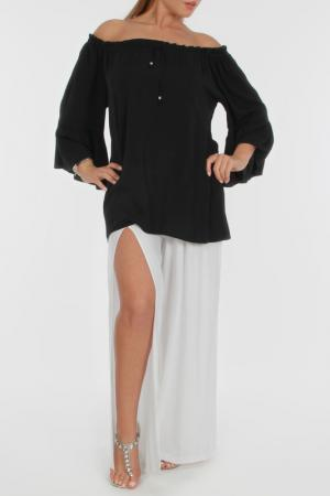 Блуза Zer otantik. Цвет: черный