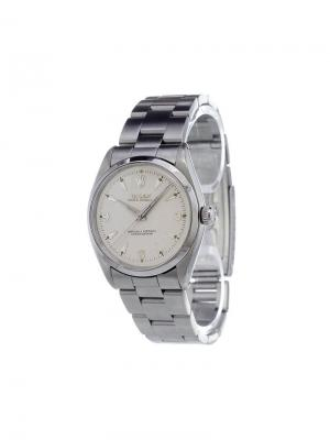 Аналоговые часы Oyster Perpetual Rolex. Цвет: металлический