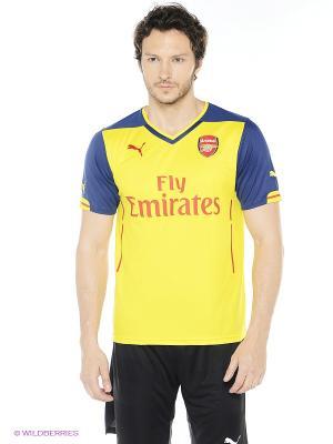Футболка AFC Away Replica Shirt empire. Puma. Цвет: желтый