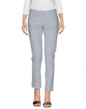 Джинсовые брюки 19.70 NINETEEN SEVENTY. Цвет: светло-серый