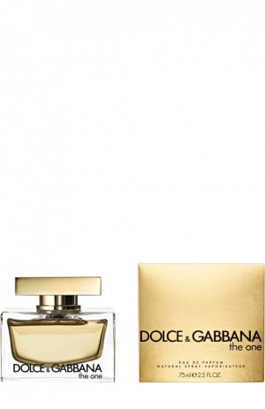 Парфюмерная вода  One Dolce & Gabbana. Цвет: бесцветный