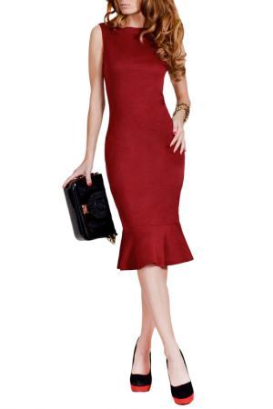 Платье FRANCESCA LUCINI. Цвет: марсала