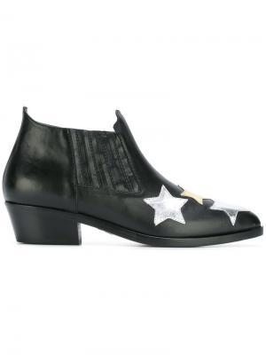Ботинки Stars Chiara Ferragni. Цвет: чёрный