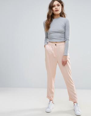 B.Young Строгие брюки. Цвет: розовый
