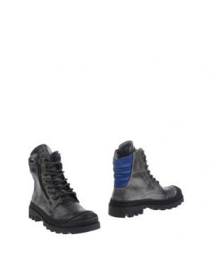 Полусапоги и высокие ботинки JARRETT. Цвет: свинцово-серый